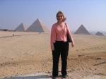 Visiting the Pyramids at Giza