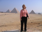 Visiting the Pyramids at Giza