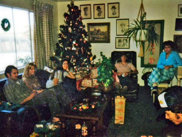 Christmas long ago.